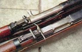 Прицел и затворная рама М1945 упрощены.
