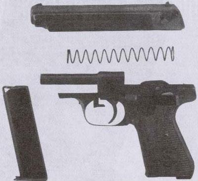 7,65-мм самозарядный пистолет «Зауэр» образца 1938 года