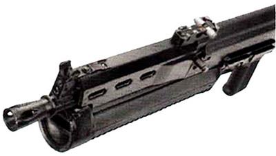 Прицельные приспособления пистолета-пулемета «Бизон-2»