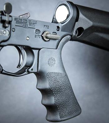 Ортопедическая пистолетная рукоятка от Hogue