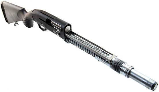 МР-155. Ствол снят