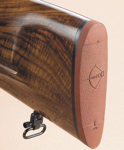 Резиновый затыльник слишком притупленный для оружия, предназначенного для охоты загоном