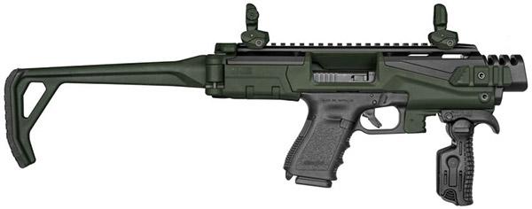 Более стабильное удержание и увеличенная длина прицельной линии способствуют существенному увеличению дальности стрельбы по сравнению с пистолетом