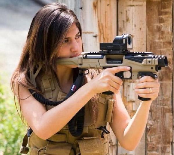 Пистолет-карабин KPOS Scout с коллиматорным прицелом Meprolight M21