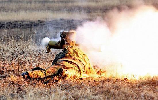 Стрельба из ПТУР «Фагот»