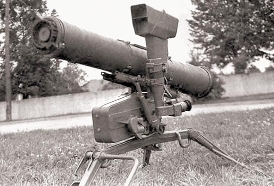 Унифицированный пусковой станок 9П56 для советских ПТРК «Фагот» и «Конкурс»