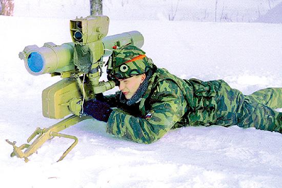 Лазерный прибор имитации стрельбы 9Ф856 для ПТРК 9К111 «Фагот»