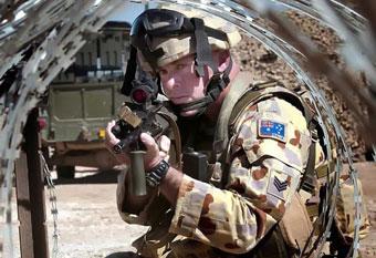 военнослужащий Австралии