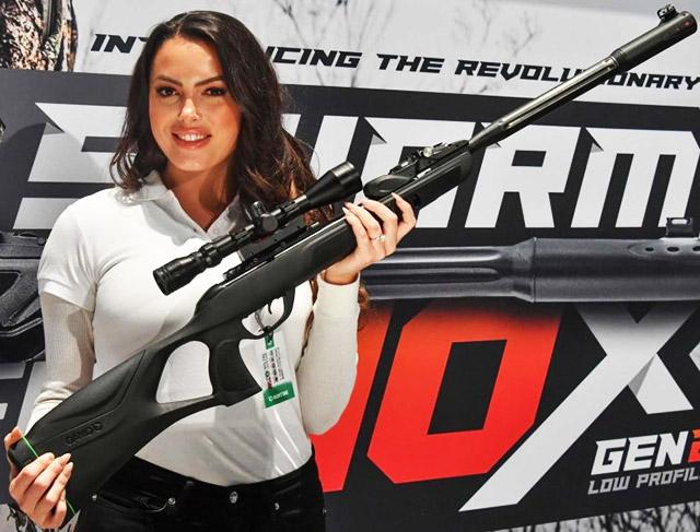Новая пневматическая винтовка Gamo Swarm Fusion 10x Gen2 с магазином на 10 зарядов - эволюция предшествующей модели Replay 10 Maxxim