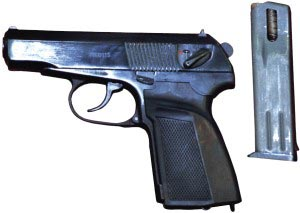 9-мм пистолет Макарова модернизированный ПММ «Грач-3»