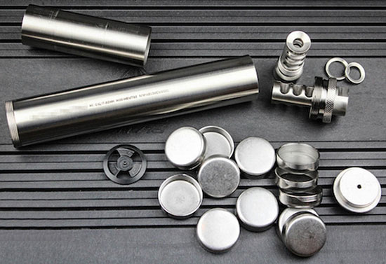 Building A Titanium Suppressor At Home