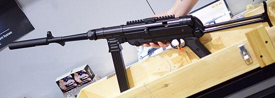 Компания ATI представила на выставке SHOT Show малокалиберную реплику MP-40
