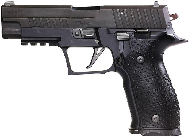Пистолет SIG Sauer P226 NXT калибра 9 мм Luger - законный приёмник классического немецкого служебного оружия