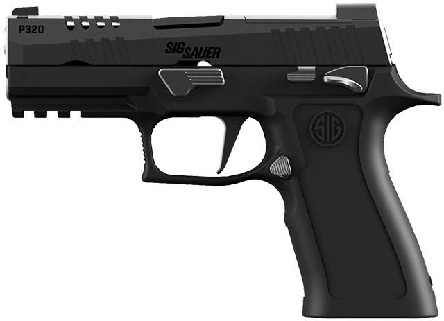 Небольшой, но мощный: P320 Carry HD калибра 9 мм Luger с двухсторонним предохранителем на полимерной рамке