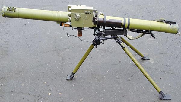 Реактивный противотанковый гранатомет РПГ-29 «Вампир» с системой управления огнем