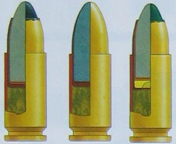 СП-10 (7Н29), СП-11 (7Н28), СП-13 (7БТЗ) (слева-направо)