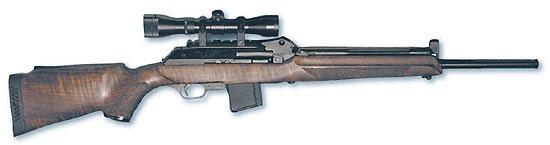 Самозарядный карабин «Вепрь-Пионер» – один из первых отечественных образцов охотничьего оружия, разработанных под патрон 5,56х45