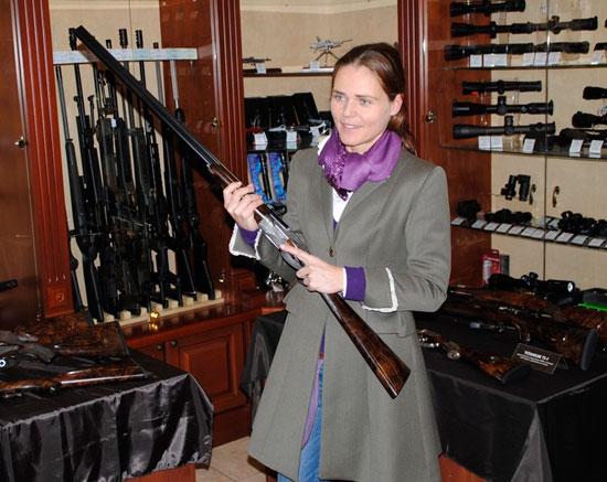 Презентация эксклюзивного оружия фирмы Johann Fanzoj в Украине
