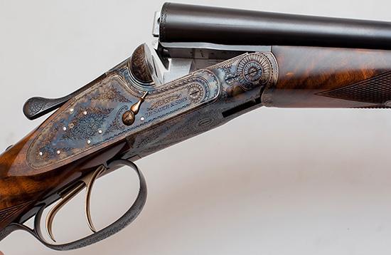 защитно-декоративная обработка металлических частей оружия