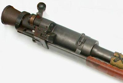 вид на казенник Carl Gustav pvg m/42