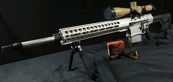DRD Shipping «Kivaari» .338 Lapua Magnum Takedown Semi-Auto