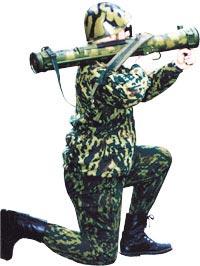 Стрельба из реактивного пехотного огнемета РПО-А «Шмель»