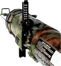 Прицельные приспособления реактивного пехотного огнемета РПО-А