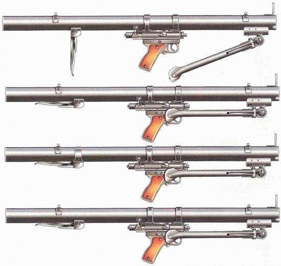 Варианты ручного противотанкового гранатомета РРБ М49