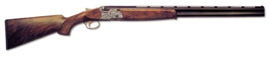 Ружьё ASE Deluxe Sporting итальянской фирмы Beretta. Помимо высоких технических характеристик, его отличительной особенностью является украшенная ствольная коробка. Ружьё ASE Deluxe может выпускаться в спортивном и охотничем исполнениях с длиной патронника 70 или 76 мм