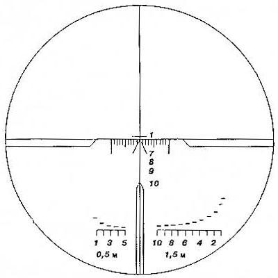 Широкоугольный прицел ПО 3,5х21П