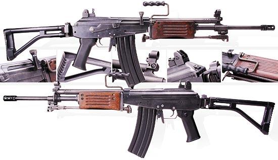 Galil ARM калибра 5.56х45 мм