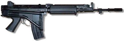 FN CAL со складным прикладом