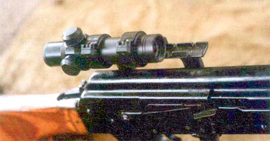 Оптический прицел ПО 3,5x17,5 может использоваться на любом оружии, имеющем планку крепления ночного прицела. Положение прицела в кронштейне регулируется