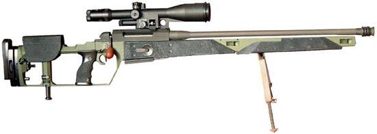 Снайперская винтовка Mauser SR-93