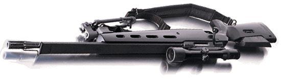 SIG SSG 3000 с антибликовым полотном