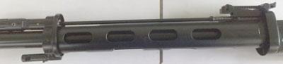 Несущая шина на СВДСМ, разгружающая ствол и узел крепления для сошек