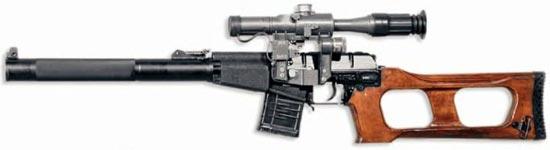 Снайперская винтовка ВСС «Винторез»