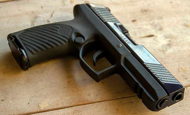 9-мм спортивный пистолет «Аспид» разработан в ЦНИИТОЧМАШ на базе боевого пистолета «Удав»