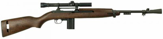 T30 Carbine with M82 Vintage Sniper Scope