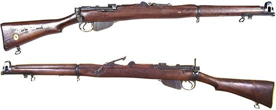 SMLE Mk I («короткая» Ли-Энфилд)