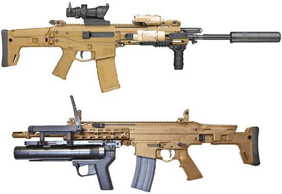 Военная карьера ACR: модульность конструкции позволяет создавать на базе одной винтовки оружие, оптимизированное для различных задач