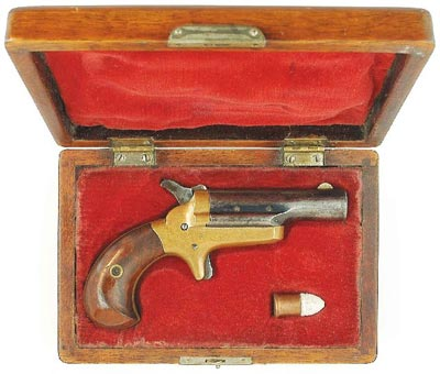 Дерринджер «№3» компании Colt калибра .41RF. Вторая половина XIX века