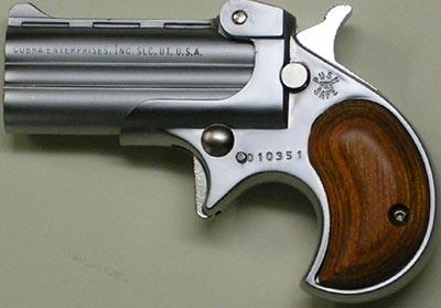 Современный дерринджер компании Cobra Enterprises под патрон .32 АСР