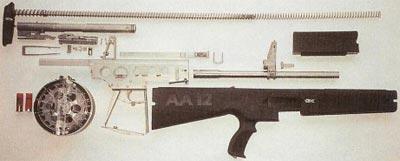 AA-12 неполная разборка