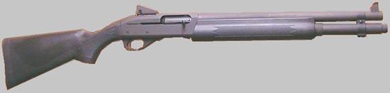 Remington 11-87 Police со стволом 457 мм. и диоптрическим прицелом Ghost Ring