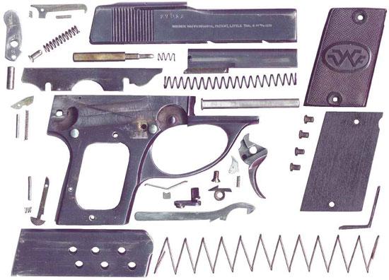детали пистолета Little Tom