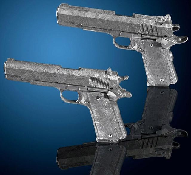 Пистолеты из метеорита