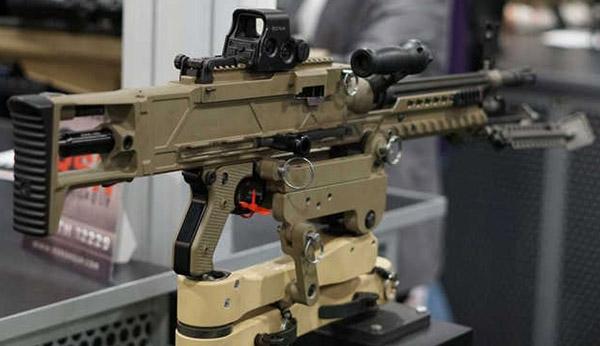 Ручной пулемет от компании Barrett