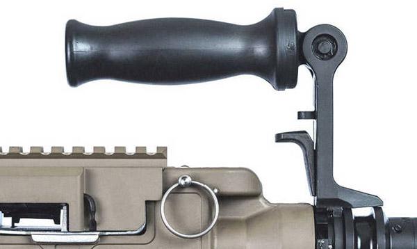 Рукоятка для переноски пулемета