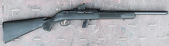 Толстый ствол с резьбой, планка для оптики — перед нами «тактическая снайперка»